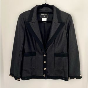 Vintage Chanel Black Jacket from Cruise Collection